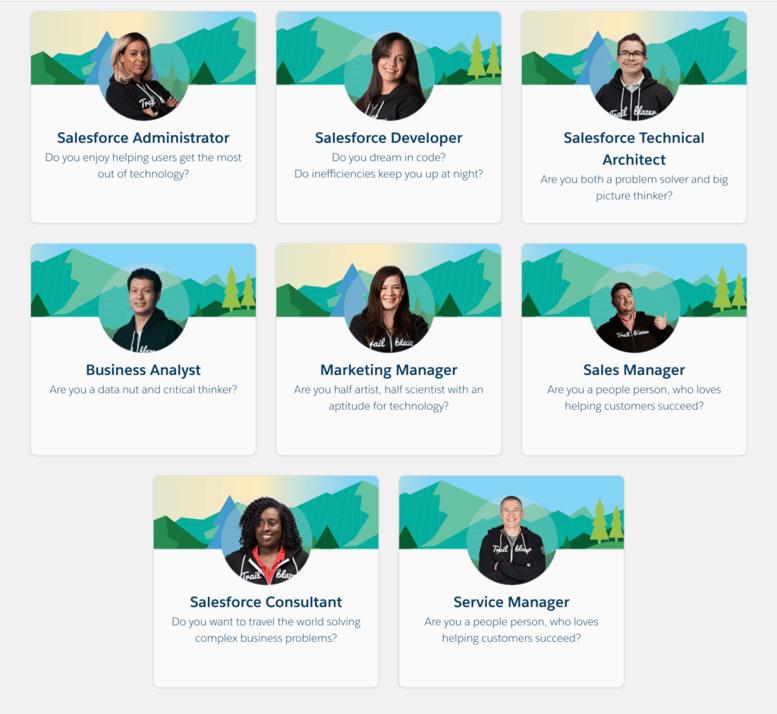 Salesforce Career Paths